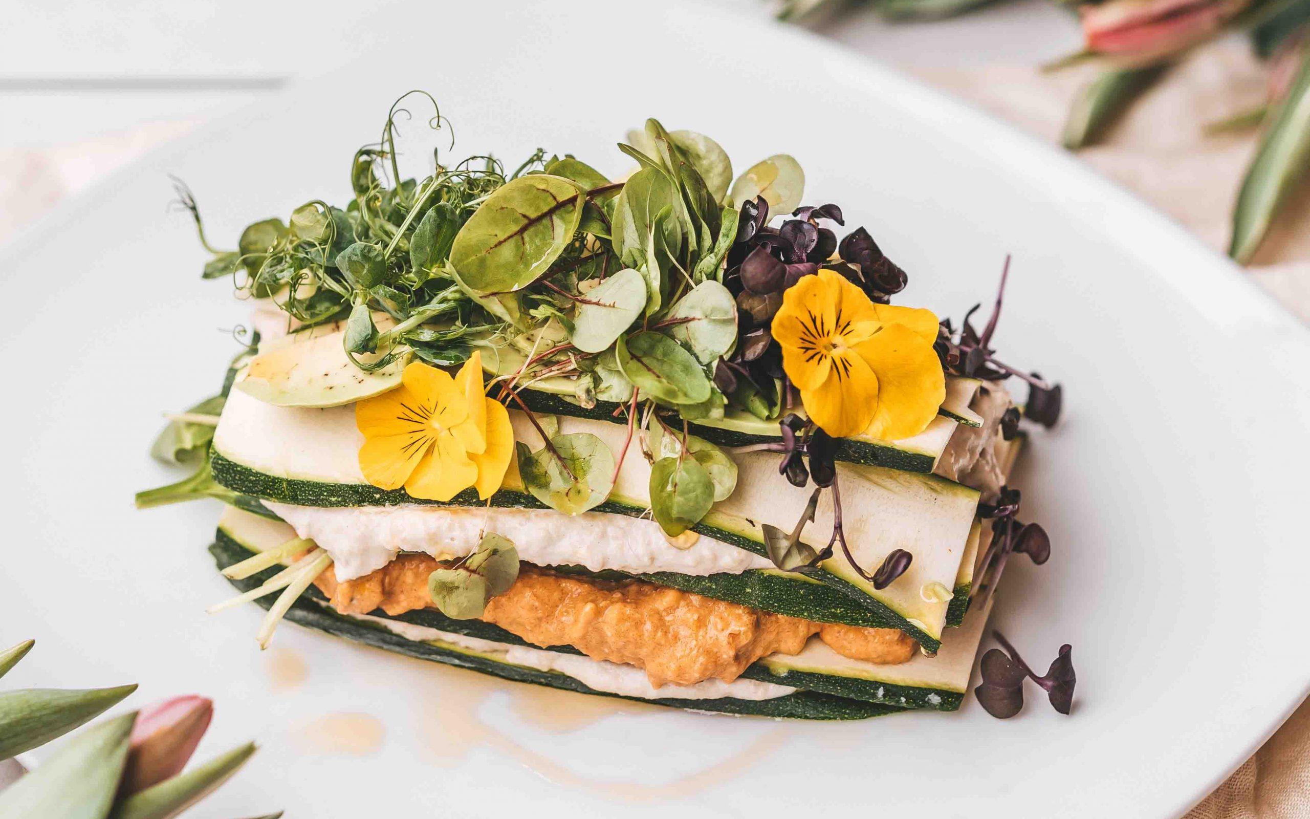 Green Garden Rohkost-Lasagne by Stefanie Anich & Julia Platzer