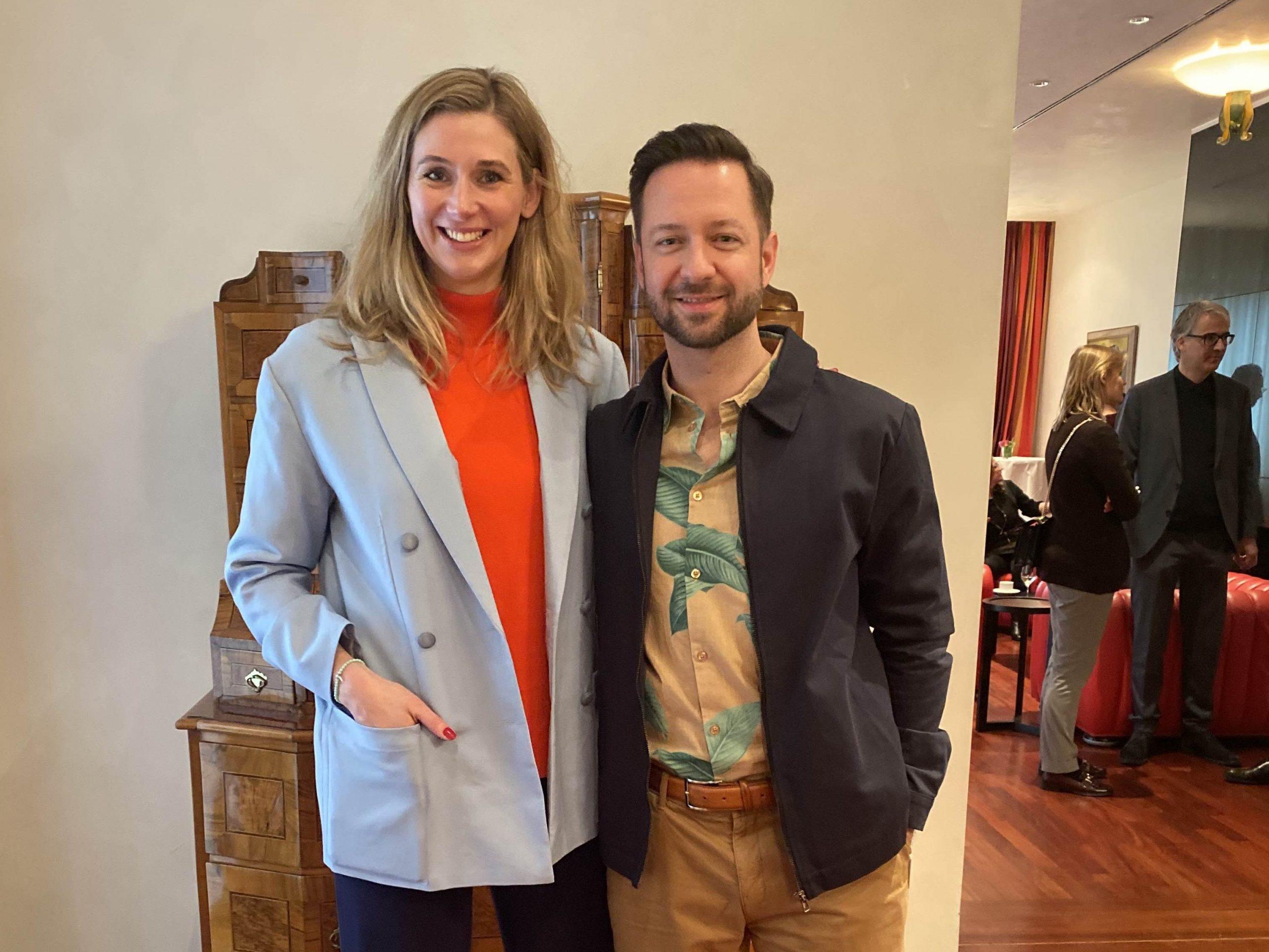 David Wehle und Andrea Gerhard