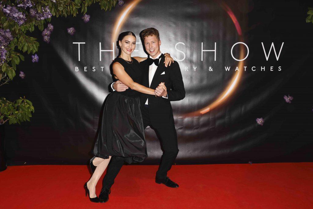 Renata und Valentin Lusin bei The Show