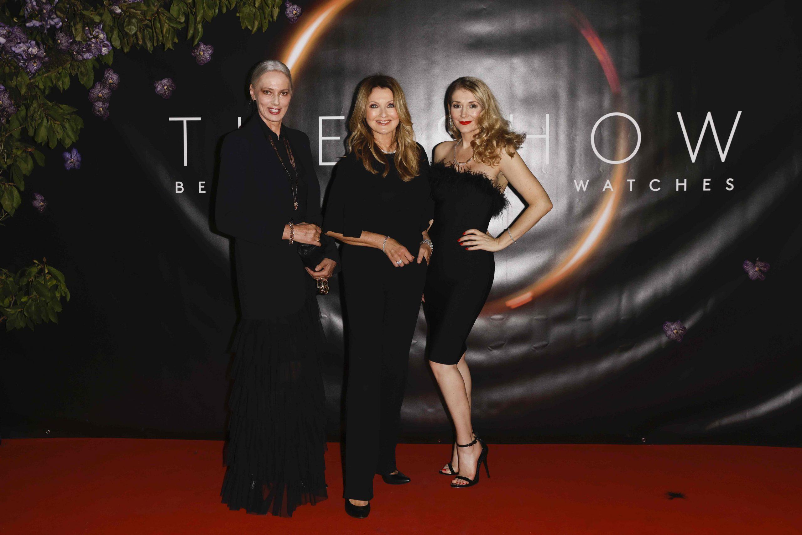 Petra van Bremen, Frauke Ludowig und Sandra Quadflieg bei The Show